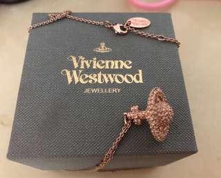 Vivienne Westwood 玫瑰金頸鏈