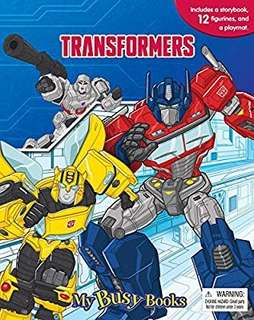 🚚 Transformers My Busy Book