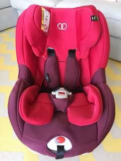 Koopers Jive Convertible Isofix Carseat 0-4yrs Great Condition