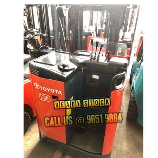 Reconditioned Reach Truck from 1 ton onwards