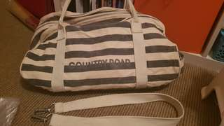 Country Road tote overnight bag