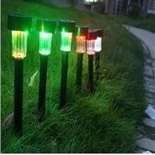 Colourful Solar Lampu