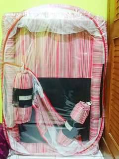 Kasur bayi kelambu