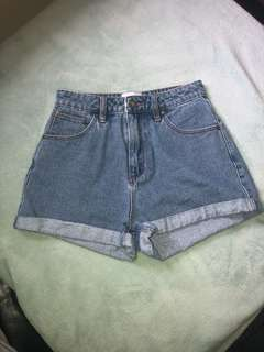 Abrand Jeans Shorts (A Brand)