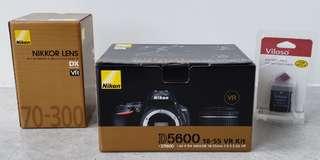 Nikon D5600 BUNDLE