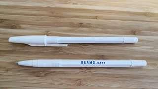 Beams beams boy pilot pen 藍色原子筆