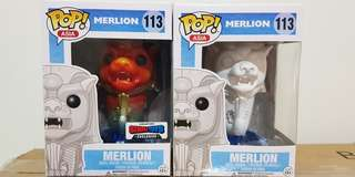 Funko Pop Merlion - Coloured and White