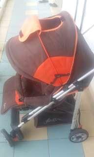 stroller anakku brand......ank dah besar..