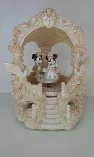 Mickey n Minnie wedding music box