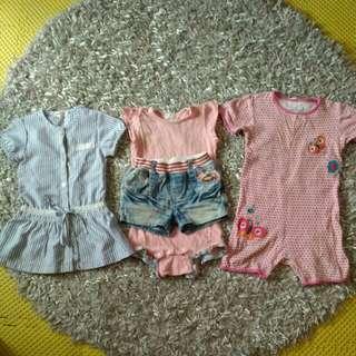 🚚 4件女童衣