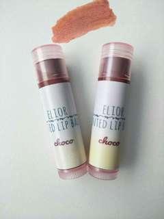 Elior organic tinted lip balm