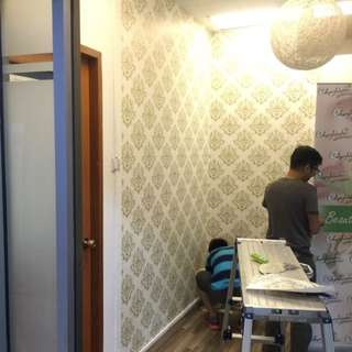 Customize Wallpaper Print And Installation