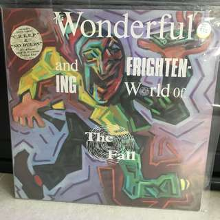 Records Vinyl - The Fall - wonderful frightening world LP