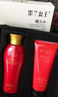 Princess Moran shampoo and conditioner set