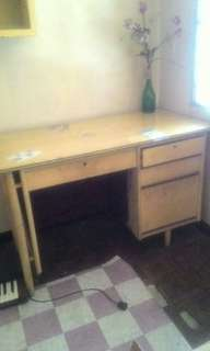 RUSH SALE wood table *(repriced)