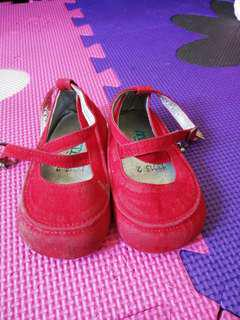Mystee Red Suede Shoes