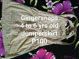 Gingersnaps Jumperskirt