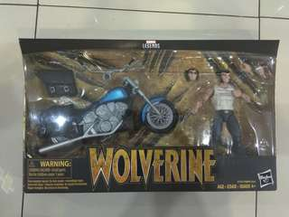 Marvel Legends WOLVERINE with Motorcycle Legendary Riders