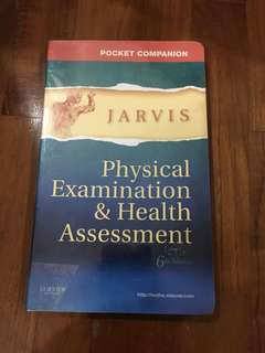 Jarvis physical examination & health assessment 6th ed