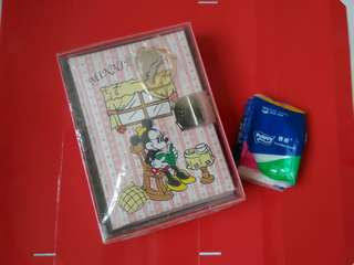 中古正版日制Minnie Mouse Diary book/Note book
