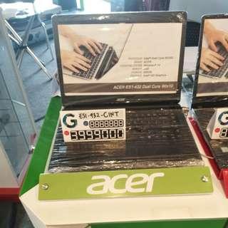 Laptop acer es1-432 bisa dicicil tanpa kartu kredit