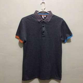 PENSHOPPE Semi Fitted Gray Polo Shirt