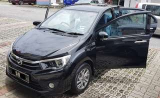Bezza Advance 1.3 Auto for Rent