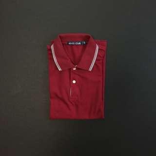 MEN'S CLUB Red Poloshirt