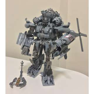 (In Stock) Transformers Studio Series, Leader class Blackout (w/o box, Factory stock)