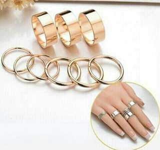 Cincin simple nine gold