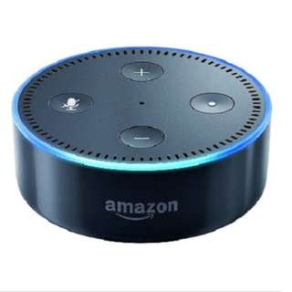 Amazon Echo Dot 2nd Generation Black, White