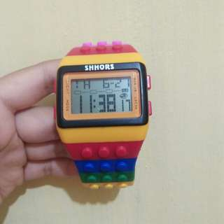 Lego watches from SHHORS