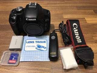 🚚 曙光數位 Canon 500D Body 單機身