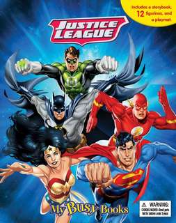 🚚 (Pre Pre-Order)  DC Justice League My Busy Book