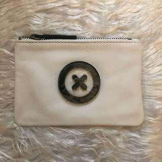 Mimco Small Supernatural Pouch in Black and White