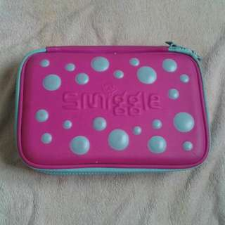 Smiggle Double Up Bubble Hardtop Pencil Case