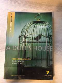 A Doll's House York Notes Advanced