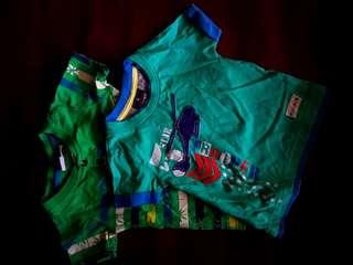 Preloved R&B printed shirts bundle *bought in Dubai*