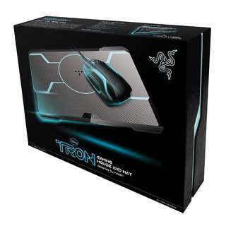 TRON® Gaming Mouse and Mouse Mat Bundle Designed by Razer