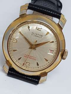 Clinton Automatic Vintage Watch