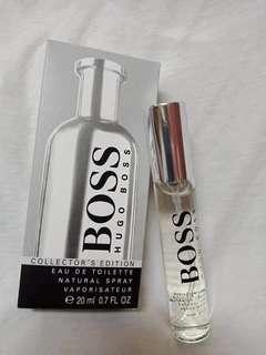 BOSS Hugo Boss 20 ml singapore tester, Travel perfume