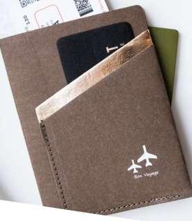 水洗牛皮紙 護照本