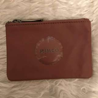 Mimco Small Pouch in Rhubarb
