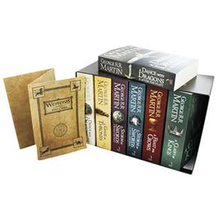 🚚 A Song Of Ice And Fire Complete Collection Pack Boxset 7 Books. George R R Martin, A Game Of Thrones  (All Brand New And Shrink Wrapped))