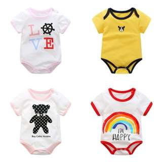 🚚 Assorted Baby Rompers