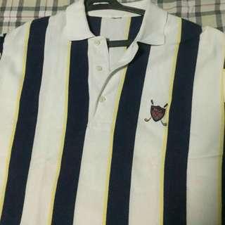 Original Ralph Lauren Cross Mallets Stripes Rugby Polo Shirt