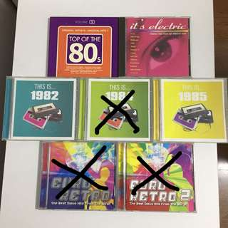 🚚 80s Music CD collection
