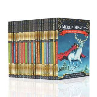 🚚 Magic Tree House Merlin Mission Books Paperback #29 - #52 (24 Books All Brand New)