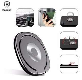 Iring Basues Universal phone ring desk stand holder fot for magnetic car