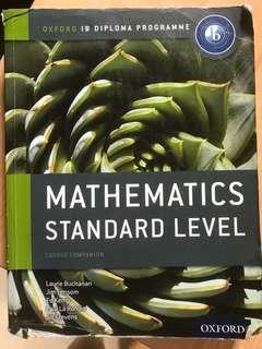 IB mathematics stand level textbook